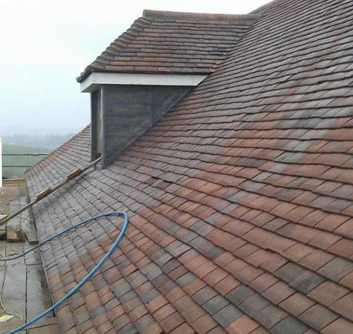 Pitched, tiled roof, Roofing in Bath
