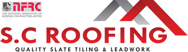 logo SC Roofing Bath, quality rooves