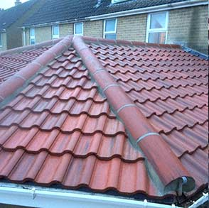 Shallow Pitch Roof Englishcombe Village Bath