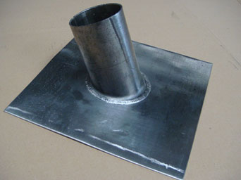 Lead slate vent pipe for Soil waste pipe 4 inch or can be made to suit