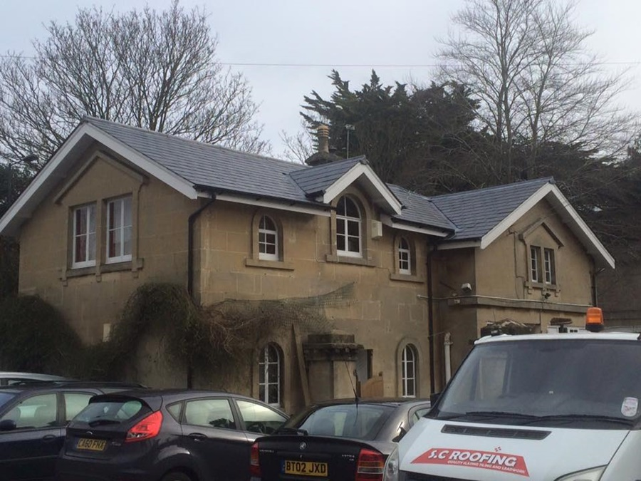 Snap Dragons Nursery New slate roof in Bath