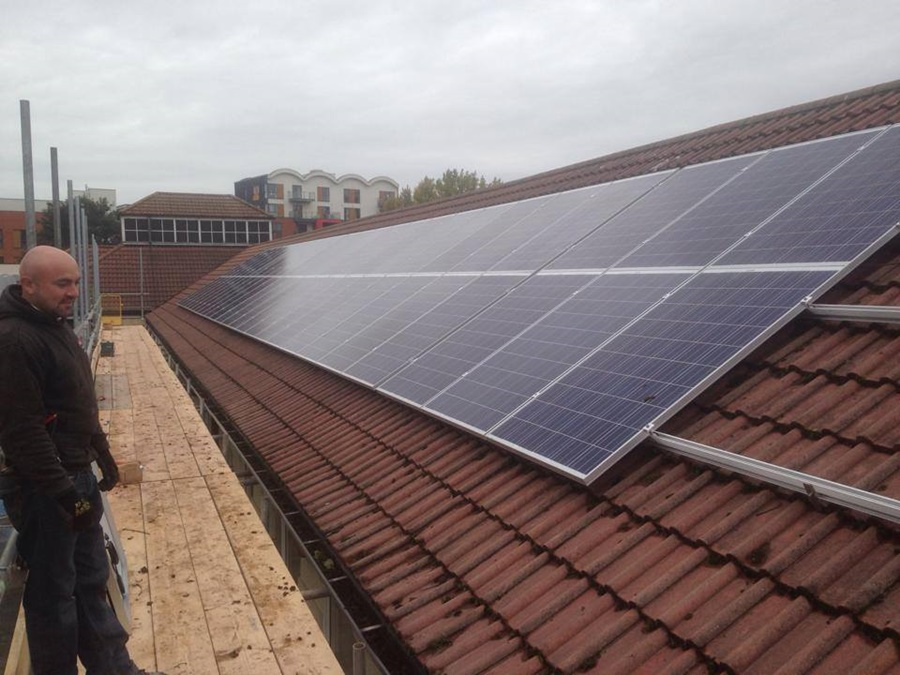 Solar Panels in Easton Bristol