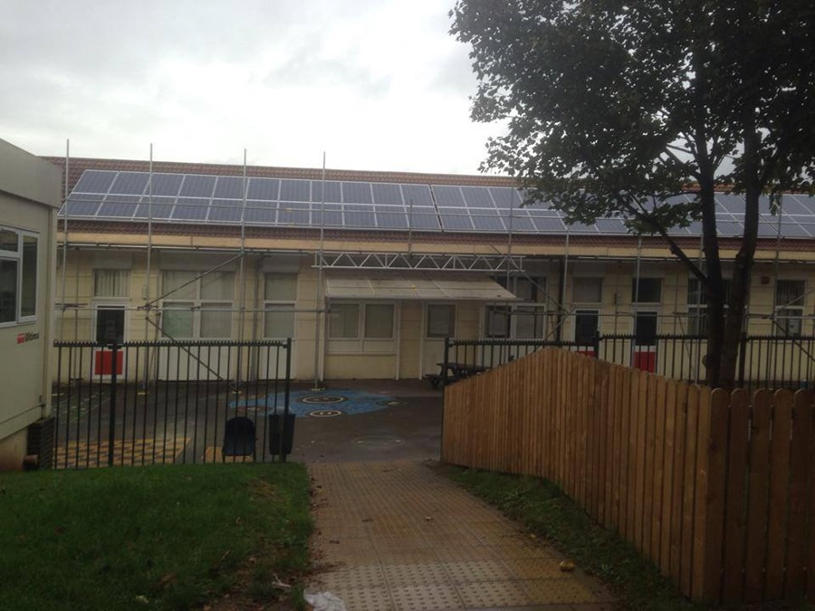 Bristol school renewable energy